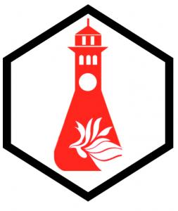 Logo de 50 aniversario de programa graduado de quimica