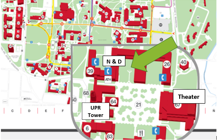 Hostos Campus Map.Centers Laboratories And Facilities