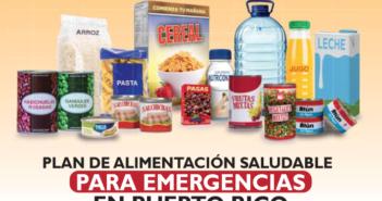 Imagen de la Portada del Plan de Alimentación Saludable para Emergencias en Puerto Rico