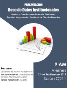 Promoción Bases de Datos Institucionales