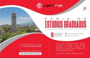 Promoción Feria de Estudios Graduados