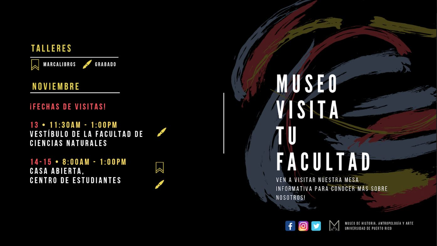 Afiche Museo visita tu Facultad