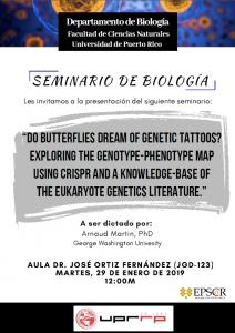 Afiche invitación al seminario