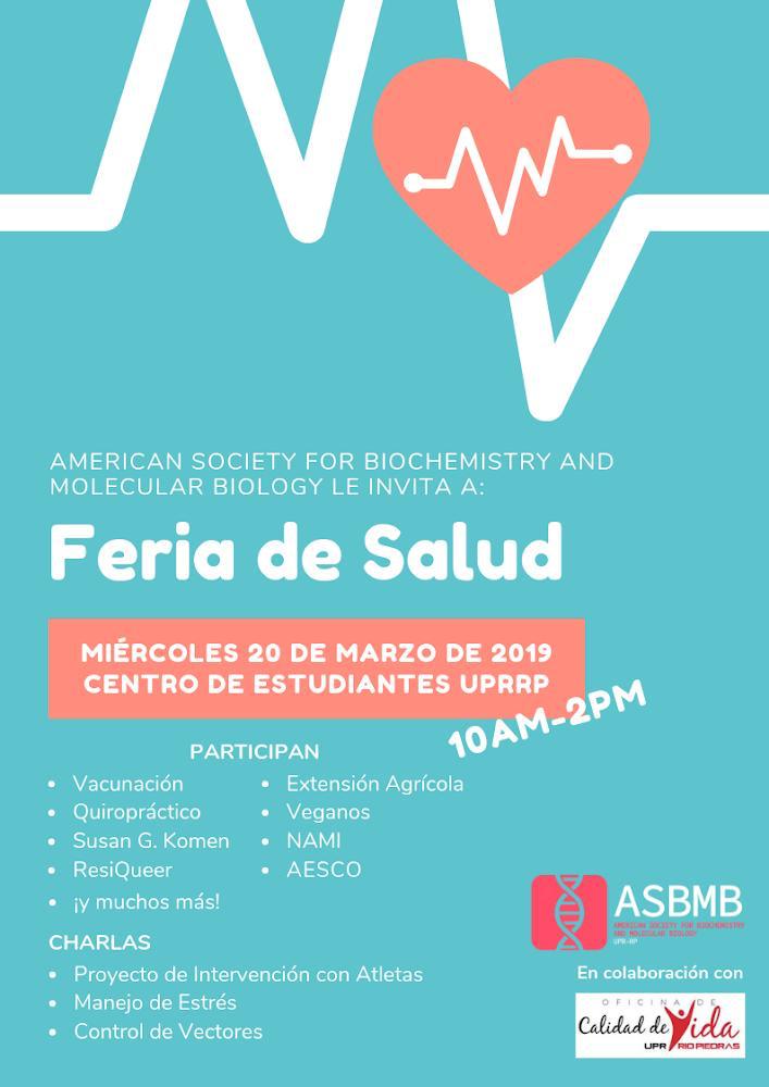 Feria de Salud @ Centro de Estudiantes