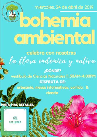 Bohemia Ambiental @ Vestíbulo de Ciencias Naturales