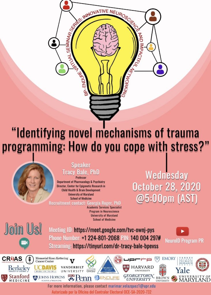 Identifying novel mechanisms of trauma programming: How do you cope with stress?