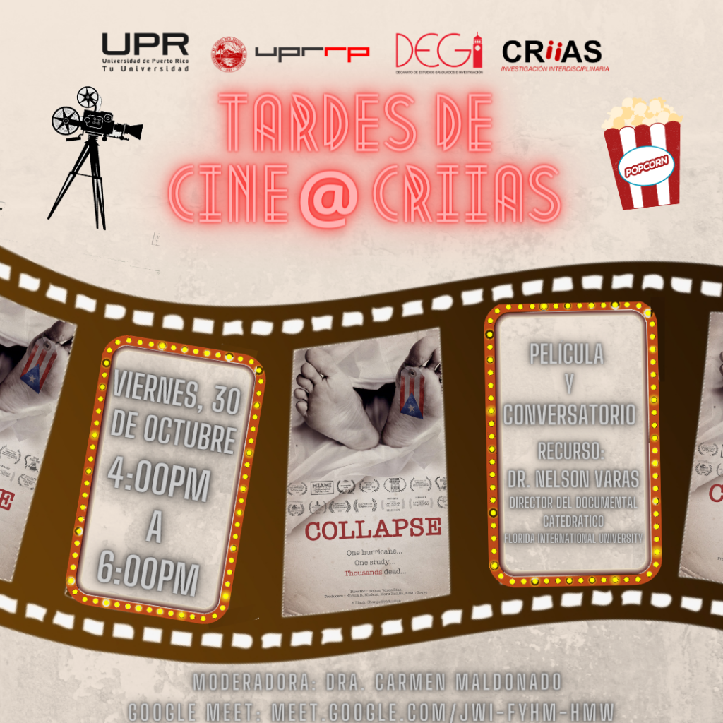 "CINE@CRIIAScon el documental""Colapso"""